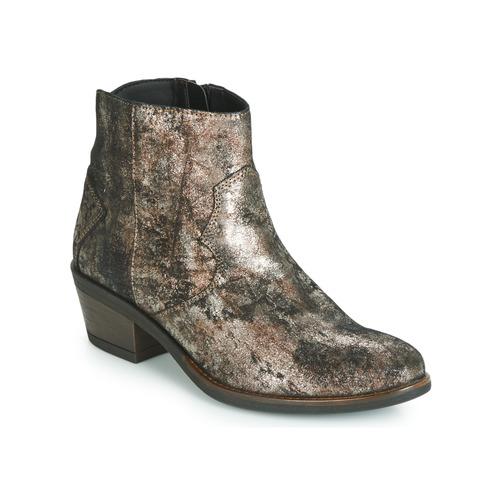 Schoenen Dames Laarzen Elue par nous FLO Brons