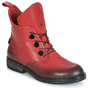 Schoenen Dames Laarzen Metamorf'Ose FABLE Rood