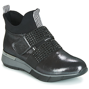 Schoenen Dames Hoge sneakers Metamorf'Ose FAGNO Zwart