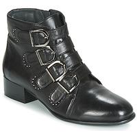 Schoenen Dames Laarzen Metamorf'Ose FAMO Zwart