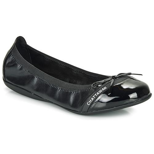 Schoenen Dames Ballerina's Chattawak CAPRICE Zwart