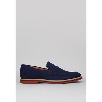 Schoenen Heren Instappers Krack 1240021 Blauw