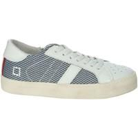 Schoenen Jongens Lage sneakers Date HILL LOW-O White/Blue