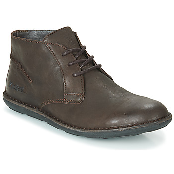 Schoenen Heren Laarzen Kickers SWIBO Brown