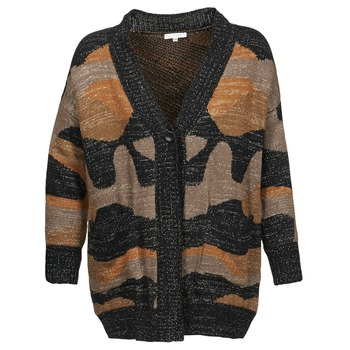 Textiel Dames Vesten / Cardigans See U Soon DUZIR Multikleuren