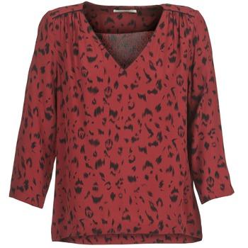 Textiel Dames Tops / Blousjes See U Soon TRIRIVIER Bordeaux