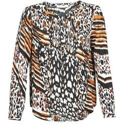 Textiel Dames Tops / Blousjes See U Soon CABRI Multikleuren