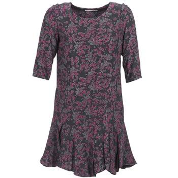 Textiel Dames Korte jurken See U Soon BOETICO Zwart / Violet