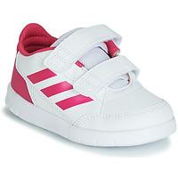 Schoenen Meisjes Lage sneakers adidas Performance ALTASPORT CF I Wit / Roze