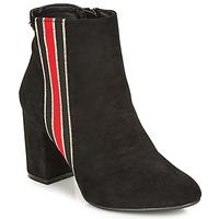 Schoenen Dames Enkellaarzen Refresh 69113-BLACK Zwart