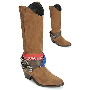 Schoenen Dames Hoge laarzen Replay FRUITLAND  camel