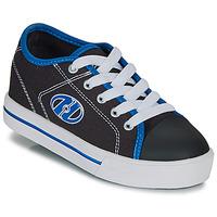 Schoenen Jongens Schoenen met wieltjes Heelys CLASSIC X2 Zwart / Wit / Blauw