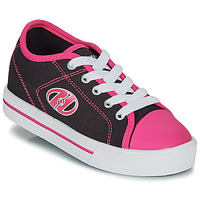 Schoenen Meisjes Schoenen met wieltjes Heelys CLASSIC X2 Zwart / Roze