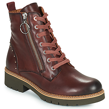Schoenen Dames Laarzen Pikolinos VICAR W0V Brown