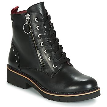 Schoenen Dames Laarzen Pikolinos VICAR W0V Zwart