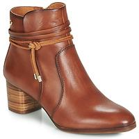 Schoenen Dames Enkellaarzen Pikolinos CALAFAT W1Z Brown