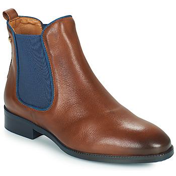 Schoenen Dames Laarzen Pikolinos ROYAL W4D Brown