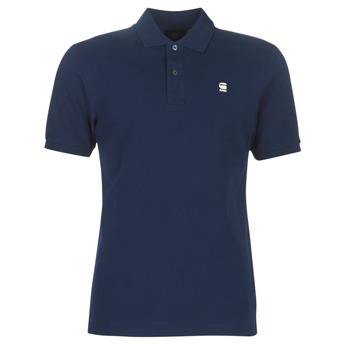 Textiel Heren Polo's korte mouwen G-Star Raw DUNDA SLIM POLO Blauw