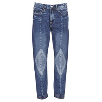 Textiel Dames Boyfriend jeans G-Star Raw 3301-L MID BOYFRIEND DIAMOND Blauw / Light / Vintage / Aged