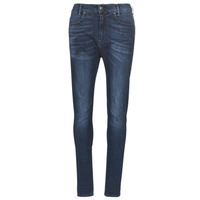 Textiel Dames Skinny jeans G-Star Raw D-STAQ MID BOY SLIM Blauw / Faded / Medium / Aged