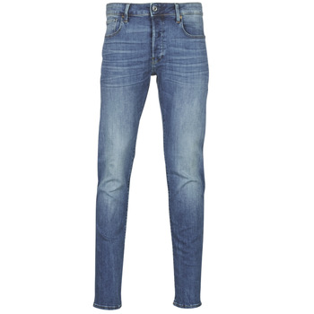 Textiel Heren Skinny jeans G-Star Raw 3301 SLIM Blauw / Vintage / Medium / Aged