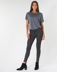 Textiel Dames Skinny Jeans G-Star Raw ASHTIX ZIP HIGH SUPER SKINNY ANKLE WMN Zwart