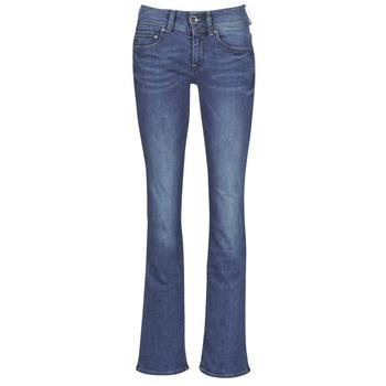 Textiel Dames Bootcut jeans G-Star Raw MIDGE MID BOOTCUT WMN Blauw / Faded / Blauw