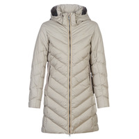 Textiel Dames Dons gevoerde jassen G-Star Raw WHISTLER SLIM DOWN HDD LONG COAT WMN Beige