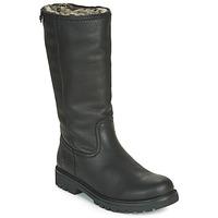 Schoenen Dames Hoge laarzen Panama Jack BAMBINA Zwart