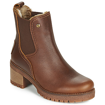 Schoenen Dames Enkellaarzen Panama Jack PIA Brown