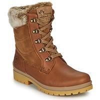 Schoenen Dames Laarzen Panama Jack TUSCANI Brown