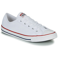 Schoenen Dames Lage sneakers Converse CHUCK TAYLOR ALL STAR DAINTY GS  CANVAS OX Wit