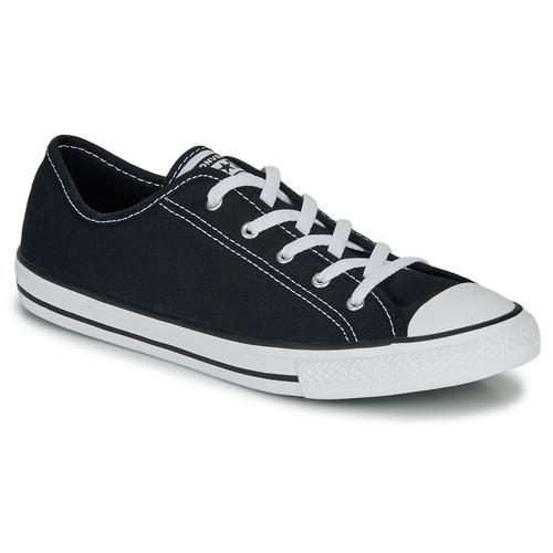 Schoenen Dames Lage sneakers Converse CHUCK TAYLOR ALL STAR DAINTY GS  CANVAS OX Zwart