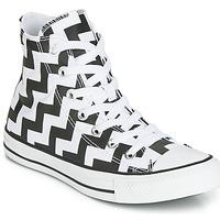 Schoenen Dames Hoge sneakers Converse CHUCK TAYLOR ALL STAR GLAM DUNK CANVAS HI Zwart / Wit