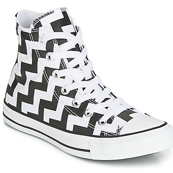 Schoenen Dames Hoge sneakers Converse CHUCK TAYLOR ALL STAR GLAM DUNK CANVAS HI Zwart / Wit