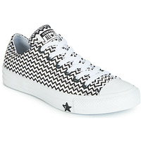 Schoenen Dames Lage sneakers Converse CHUCK TAYLOR ALL STAR VLTG LEATHER OX Wit / Zwart