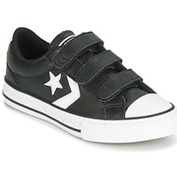 Schoenen Kinderen Lage sneakers Converse STAR PLAYER EV 3V  LEATHER OX Zwart