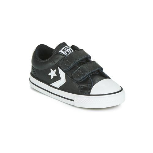 Schoenen Kinderen Lage sneakers Converse STAR PLAYER EV 2V  LEATHER OX Zwart