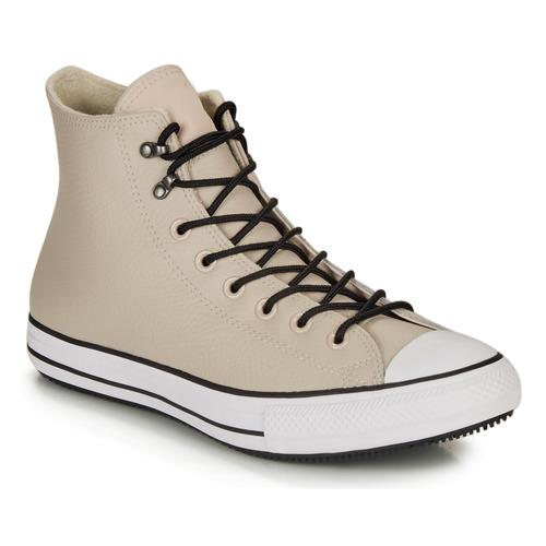 Schoenen Hoge sneakers Converse CHUCK TAYLOR ALL STAR WINTER LEATHER BOOT HI Beige