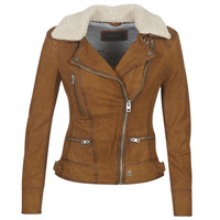 Textiel Dames Leren jas / kunstleren jas Oakwood PROJECTION Brown