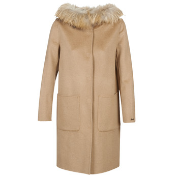 Textiel Dames Mantel jassen Oakwood YALE BI  camel / Grijs