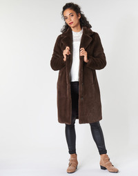 Textiel Dames Mantel jassen Oakwood CYBER Brown