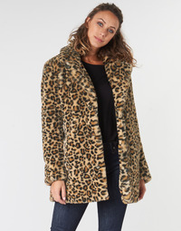 Textiel Dames Mantel jassen Oakwood USER Leopard