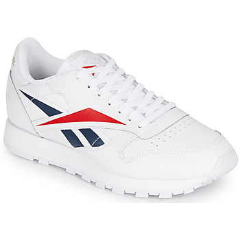 Schoenen Lage sneakers Reebok Classic CL LEATHER VECTOR Wit