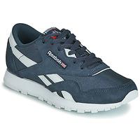 Schoenen Kinderen Lage sneakers Reebok Classic CL NYLON J Marine / Wit