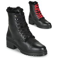 Schoenen Dames Laarzen Unisa IRACHE Zwart