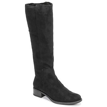Schoenen Dames Hoge laarzen Unisa ELIZA Zwart