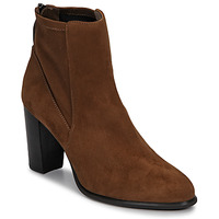 Schoenen Dames Enkellaarzen Unisa UNDER Brown