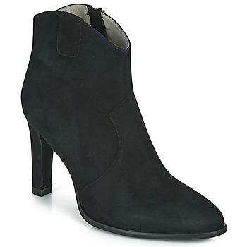 Schoenen Dames Enkellaarzen Myma PATINA Zwart