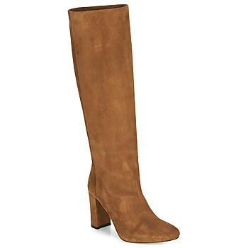 Schoenen Dames Hoge laarzen Jonak CALIME Brown